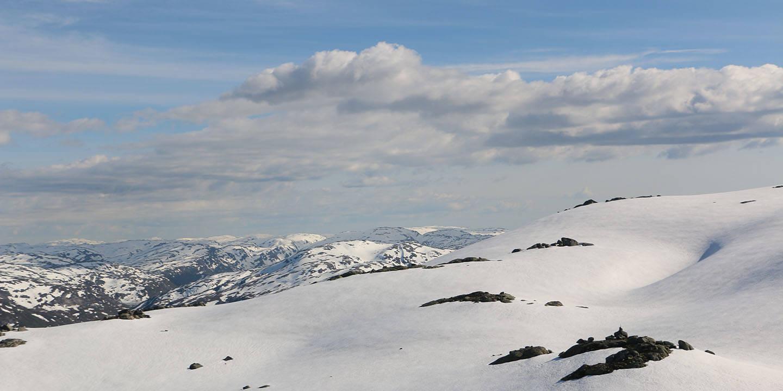Snødekte fjell