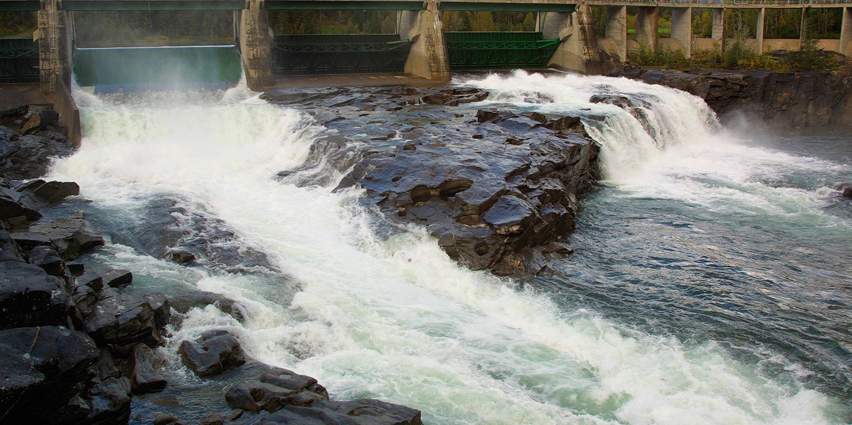 Reinfors dam, Mo i Rana
